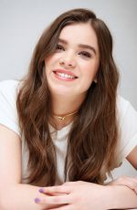 HAILEE STEINFELD at Pitch Perfect 2 Press Conference in Beverly Hills