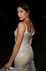 HAILEY BALDWIN at Soiree Chopard Gold Party in Cannes