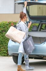 HAILEY BALDWIN Out Shopping in Beverly Hills 05/08/2015