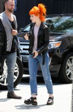 HAYLEY WILLIAMS Out and About in Los Angeles 05/23/2015