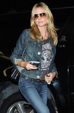 HEIDI KLUM Arrives at Los Angeles International Airport 05/05/2015