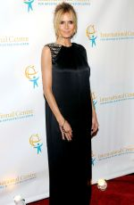 HEIDI KLUM at International Centre for Missing and Exploited Children;s Inaugural Gala in New York