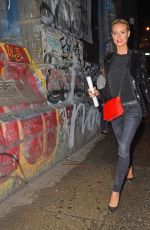 HEIDI KLUM Night Out in Soho 05/16/2015