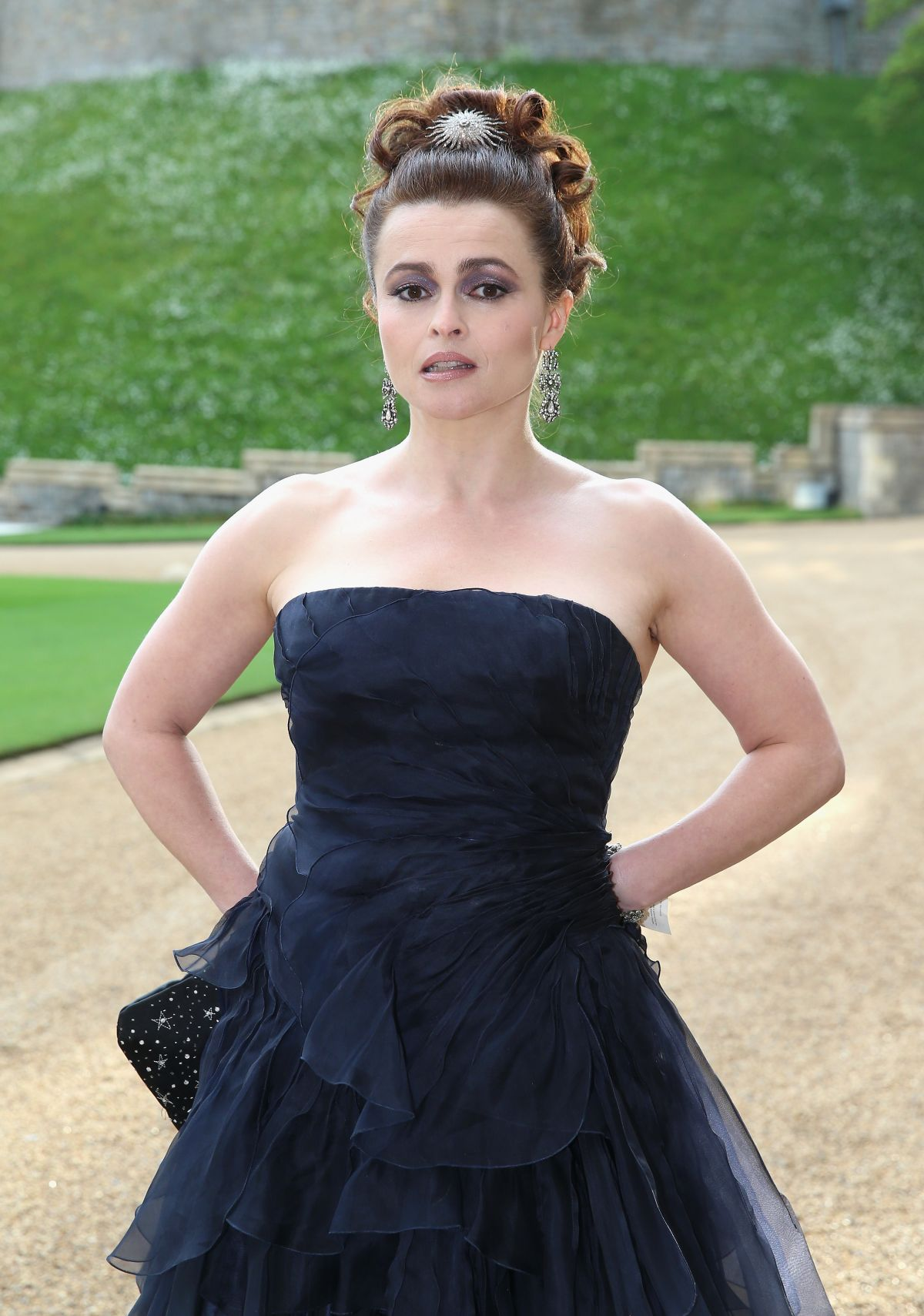 HELENA BONHAM CARTER Celebrating the Work of the Royal Marsden Hosted by the Duke of Cambridge
