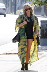 HILARY DUFF Out and About in Studio City 05/03/2015