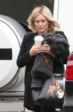 HILARY DUFF Out and About in West Hollywood 05/14/2015