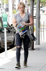 HILARY DUFF Out in Beverly Hills 05/09/2015