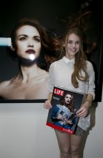HOLLAND RODEN at Tyler Shields: Historical Fiction Preview in Santa Monica