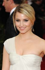 DIANNA AGRON at MET Gala 2015 in New York