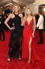 GIG HADID at MET Gala 2015 in New York