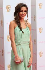 MICHELLE KEEGAN at BAFTA 2015 Awards in London