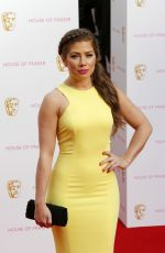 NIKKI SANDERSON at BAFTA 2015 Awards in London