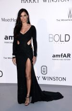 ADRIANA LIMA at Amfar's 2015 Cinema Against Aids Gala in Cap d'Antibes