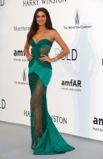 IRINA SHAYK at Amfar's 2015 Cinema Against Aids Gala in Cap d'Antibes