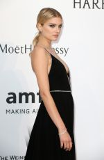 LILY DONALDSON at Amfar's 2015 Cinema Against Aids Gala in Cap d'Antibes