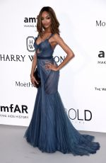 JOURDAN DUNN at Amfar's 2015 Cinema Against Aids Gala in Cap d'Antibes