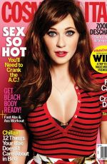 ZOOEY DESCHANEL in Cosmopolitan Magazine, June 2015 Issue