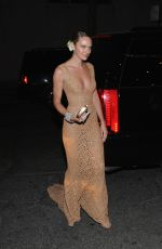 CANDICE SWANEPOEL at MET Gala 2015 in New York