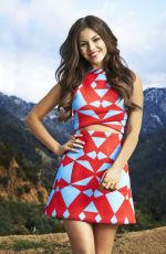VICTORIA JUSTICE in Cosmo for Latinas, May 2015 Issue