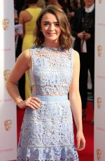 MAISIE WILLIAMS at BAFTA 2015 Awards in London