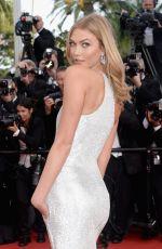 KARLIE KLOSS at La Tete Haute Premiere at 2015 Cannes Film Festival