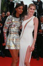 DOUTZEN KROES at La Tete Haute Premiere at 2015 Cannes Film Festival