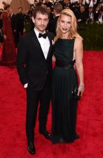 CLAIRE DANES at MET Gala 2015 in New York