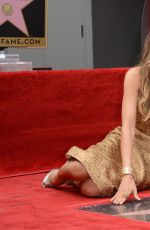 SOFIA VERGARA Honored with a Star on the Hollywood Walk of Fame in Los Angeles