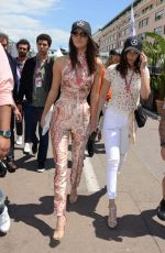 KENDALL JENNER and GIGI HADID at Formula 1 Grand Prix of Monaco in Monte-Carlo