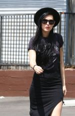 RUMER WILLIS Out amd About in West Hollywood 05/29/2015