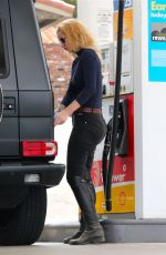 IGGY AZALEA at a Gas Station in Los Angeles 05/26/2015