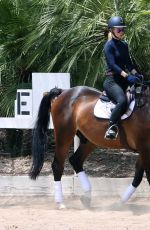 IGGY AZALEA at Horseback Riding in Los Angeles 05/26/2015