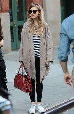 IMOGEN POOTS Out and About in New York 05/10/2015