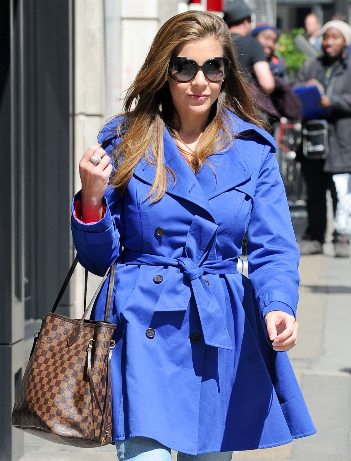 IMOGEN THOMAS Out and About in London 04/30/2015