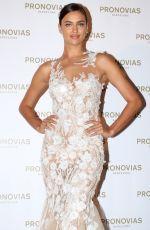 IRINA SHAYK at Pronovias Fashion Show in Barcelona