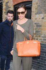 IRINA SHAYK Leaves Her Hotel in London 05/27/2015