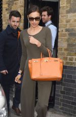 IRINA SHAYL Leaves Chiltern Firehouse in London 05/27/2015