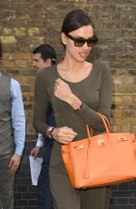 IRINA SHAYL Leaves Chiltern Firehouse in London 05/27/2015