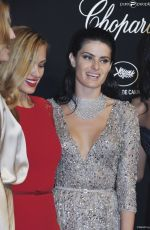 ISABELI FONTANA at Soiree Chopard Gold Party in Cannes