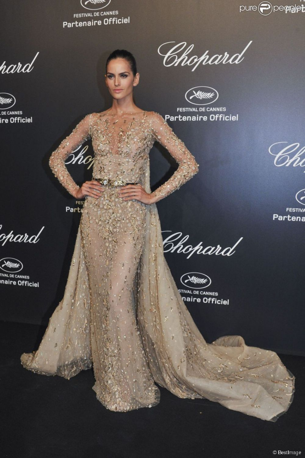 IZABEL GOULART at Soiree Chopard Gold Party in Cannes