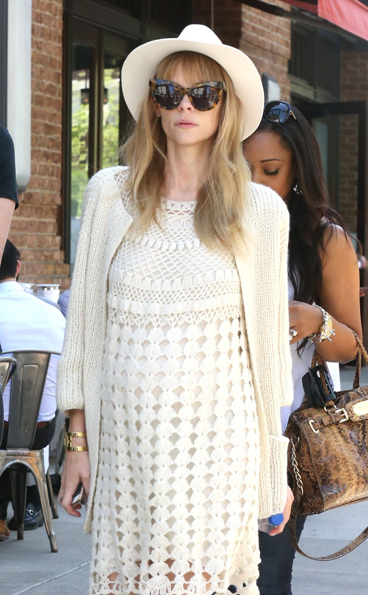 JAIME KING Out and About in New York 05/07/2015