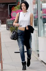 JAIMIE ALEXANDER in Jeans Out and About in Los Angeles 05/05/2015