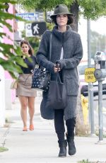 JAIMIE ALEXANDER Out and About in West Hollywood 05/21/2015