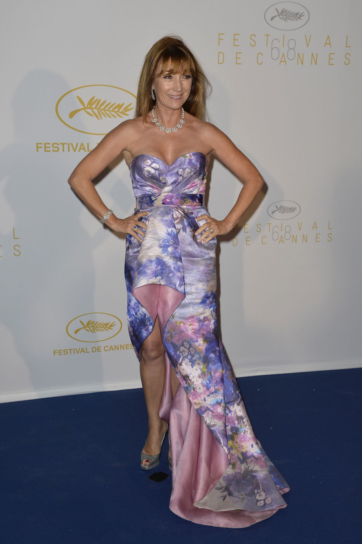 JANE SEYMOUR at 68th Annual Cannes Film Festival Opening Ceremony