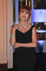 JANE SEYMOUR at Swarovski and Hollywood Reporter Dinner at Cannes Film Festival