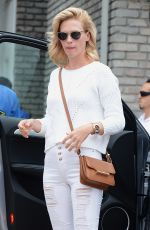 JANUARY JONES at Joel Silvers Memorial Day Party in Los Angeles