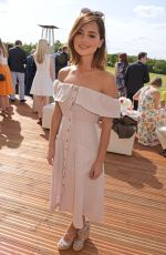 JENNA LOUISE COLEMAN at Audi Polo Challenge in London