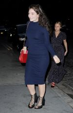 JENNIFER LAWRENCE and LORDE Noght Out in New York 05/03/2015