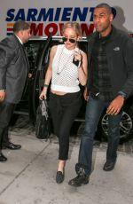 JENNIFER LAWRENCE Arrives at Her Hotel in New York 05/01/2015