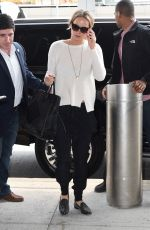 JENNIFER LAWRENCE Arrives at LAX Airport in Los Angeles 05/05/2015